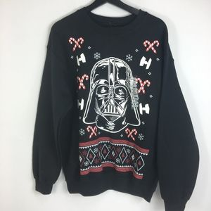 NWT Star Wars Darth Vadar Christmas Sweatshirt